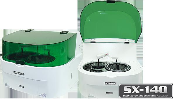 Analisador Bioquímico Totalmente Automático<br />SX-140