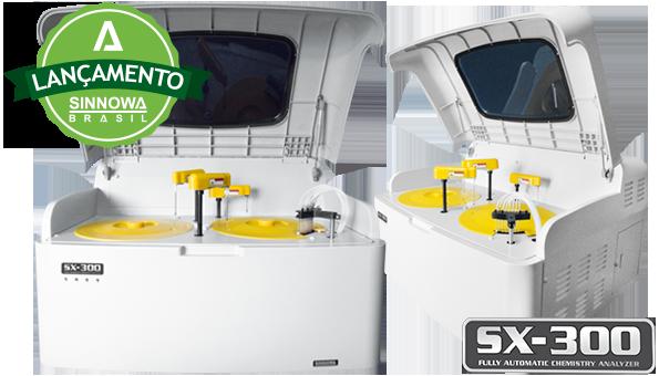 Analisador Bioquímico Totalmente Automático<br />SX-300