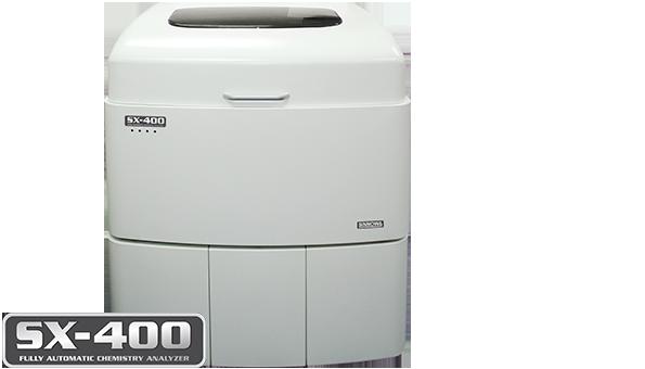 Analisador Bioquímico Totalmente Automático<br />SX-400